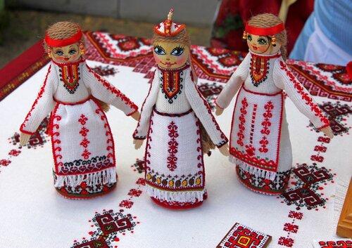 Кукла оберег марийская