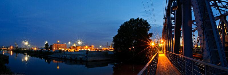 Автор: Петкун Евгений, блог Евгения Владимировича, фото, фотография: панорама с моста