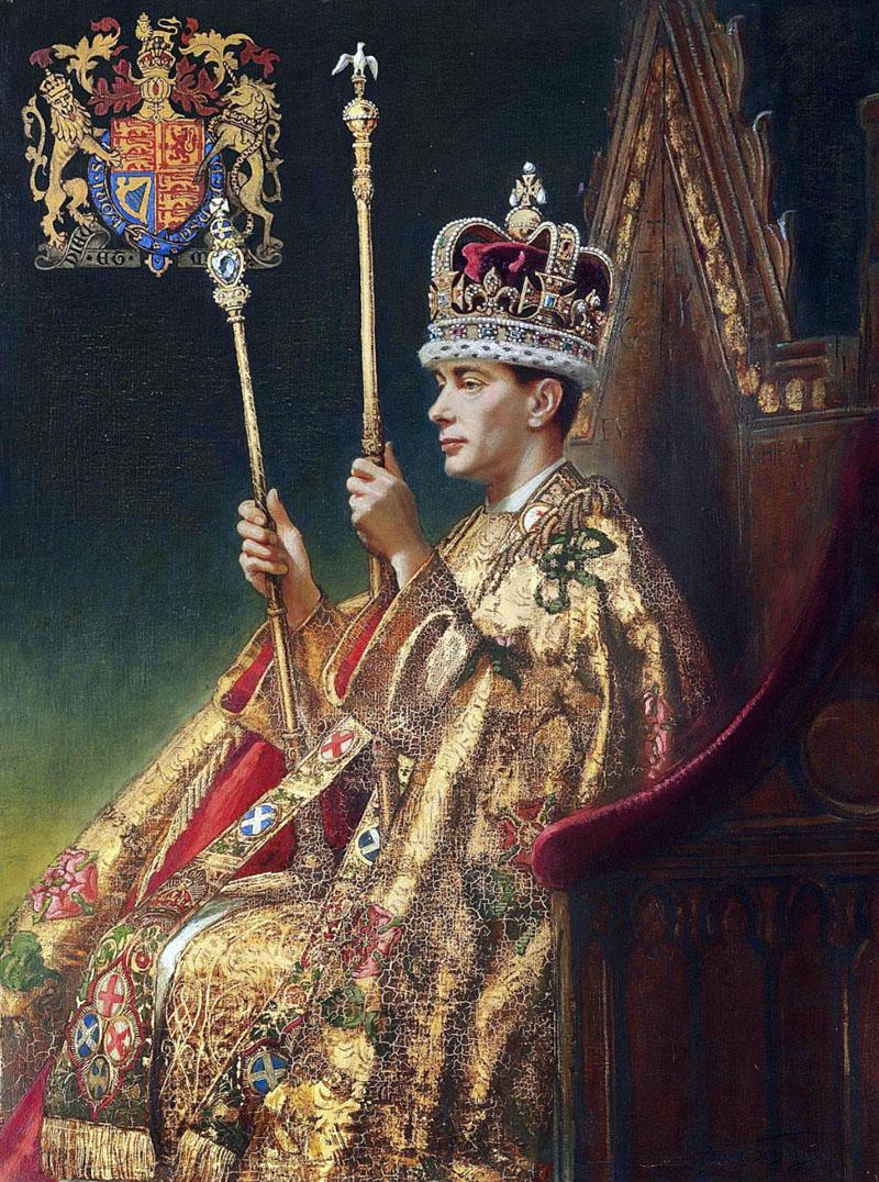 King George VI - годы правления 1(936—1952)