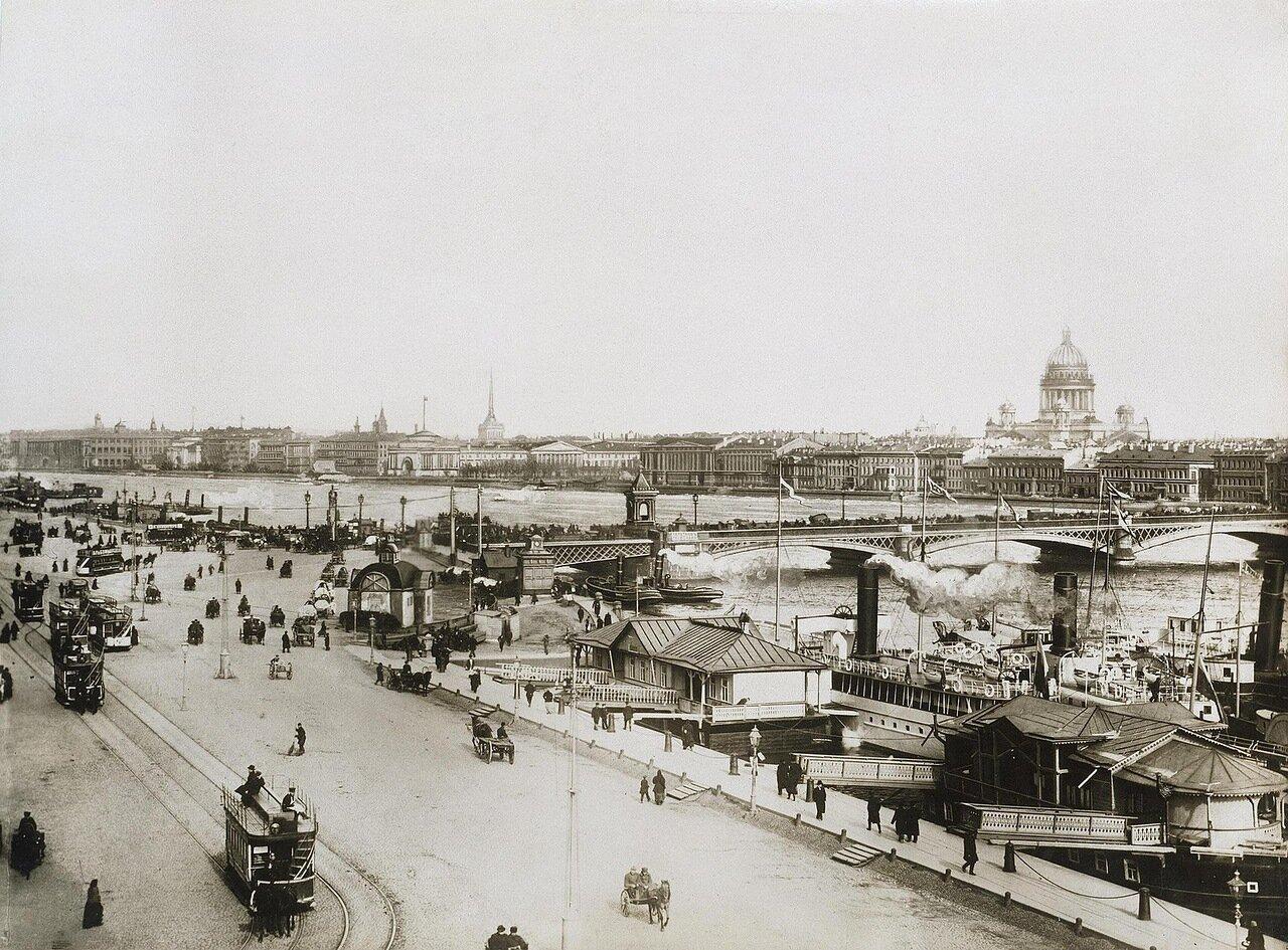 Николаевская набережная у Благовещенская моста