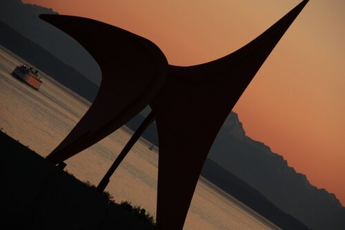 Парк олимпийской скульптуры.