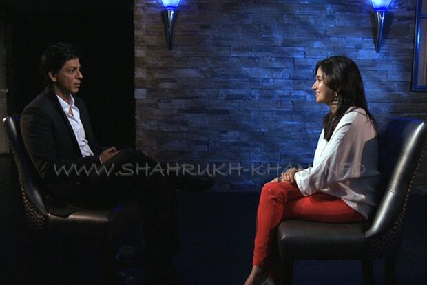 SRK & Anupama Chopra - july 2012