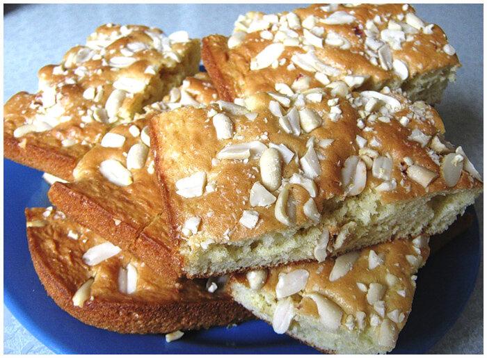 ореховый пирог фото рецепт