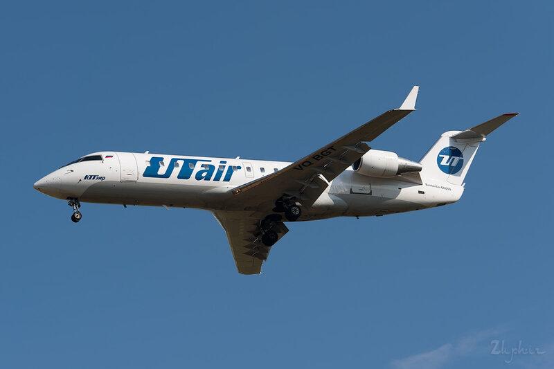Bombardier CRJ-200LR (VQ-BGT) ЮТэйр DSC_2675