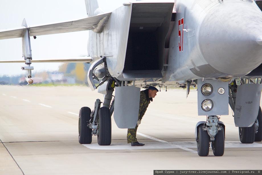 Авиабаза ВВС РФ Хотилово-2 Тверская область