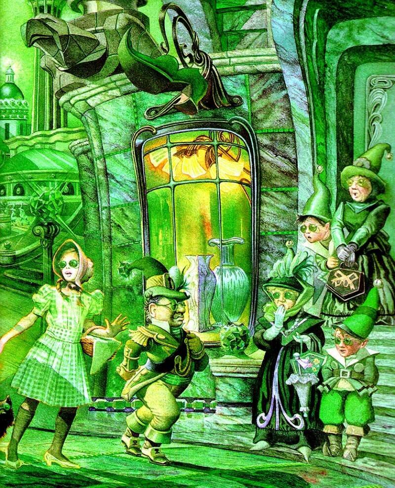 Картинки волшебников из сказок не изумрудный город петлюра