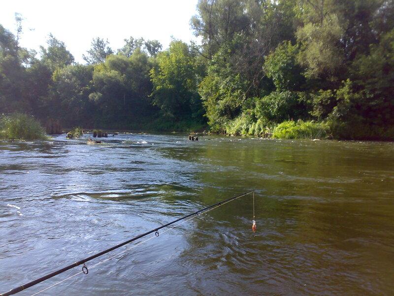 Видео рыбалка на реке сок