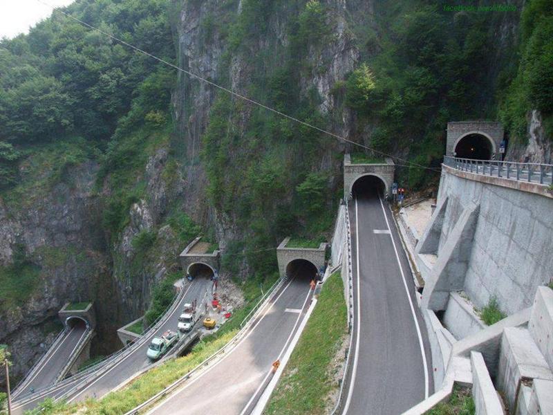 Перевал Сан-Болдо (San Boldo Pass) в Италии
