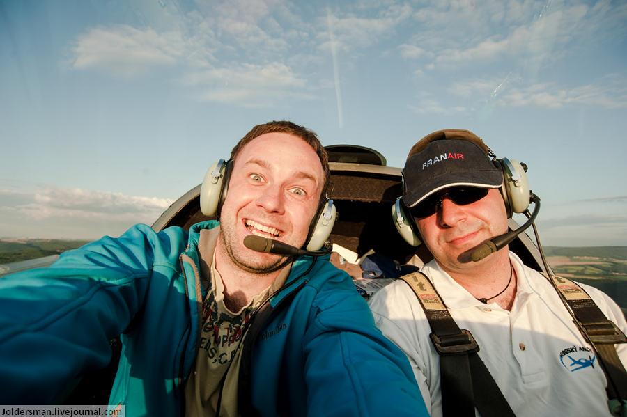 фотограф Артур Якуцевич в Небе над Чехией