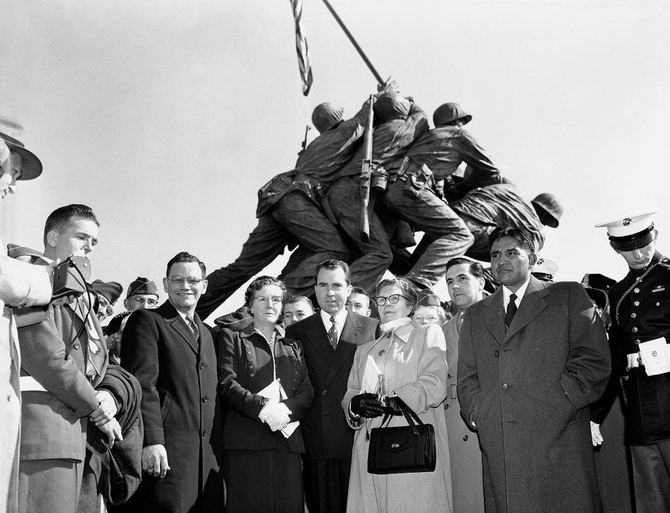 IWO JIMA STATUE DEDICATION
