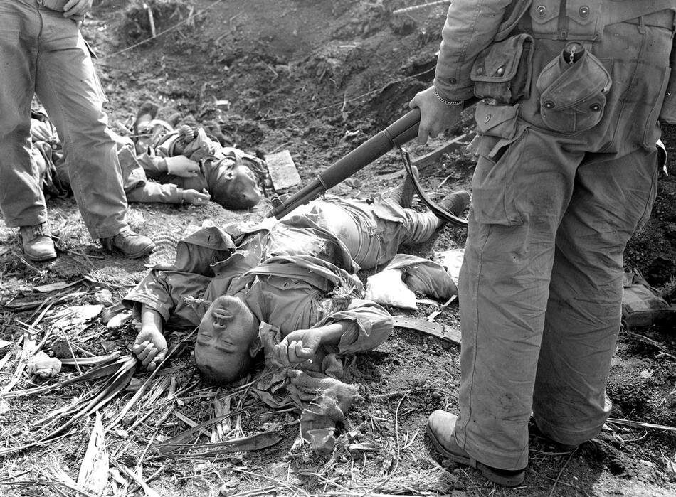 WWII IWO JIMA JAPANESE CASUALTY