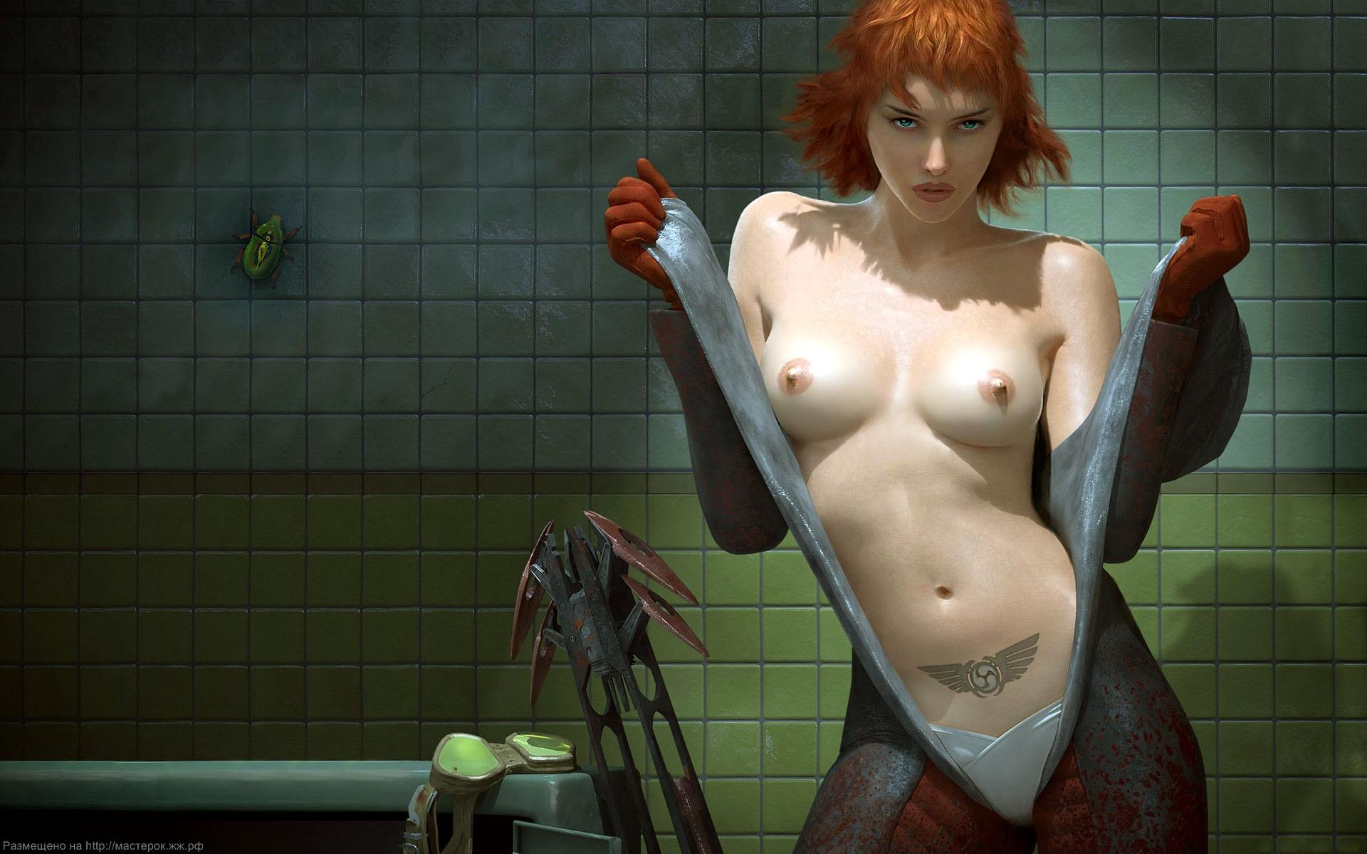 Самые эротичные героини компьютерных игр небывает