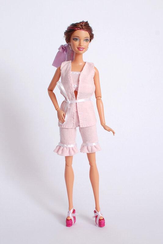 Пижама для куклы своими руками 91