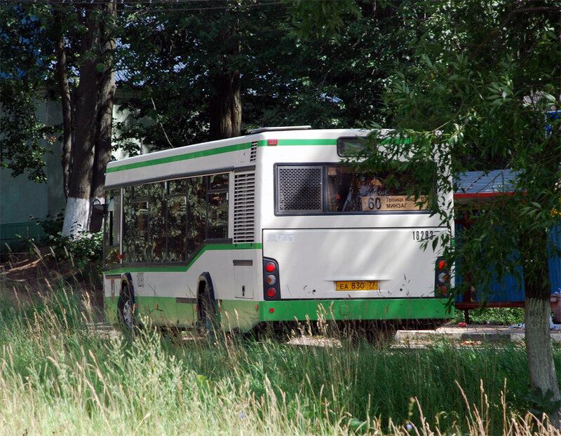 маршруту автобуса № 60 от