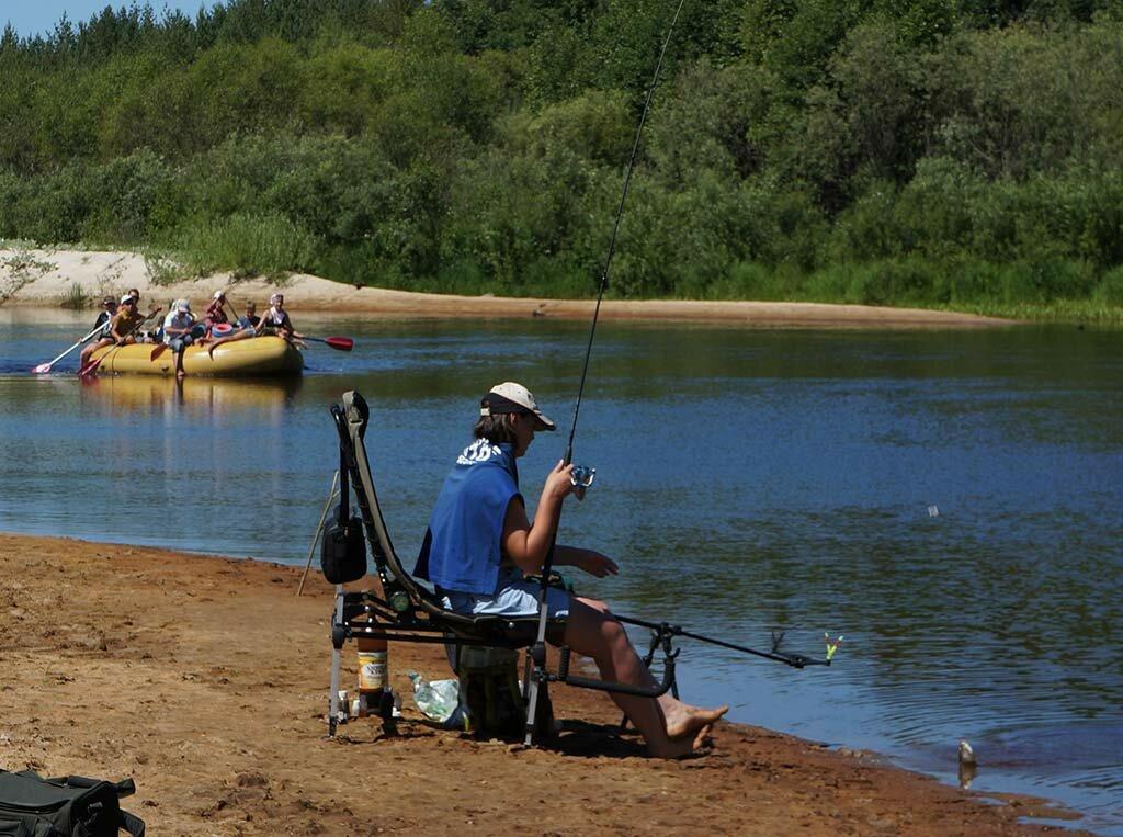 где ловить на малых реках