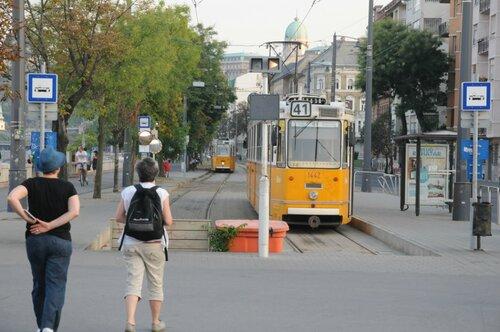 конечная остановка трамвая