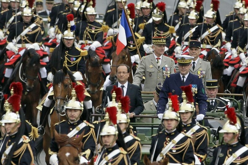 Francois Hollande, Edouard Guillaud