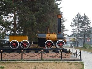 Новосибирск, музей паровозов