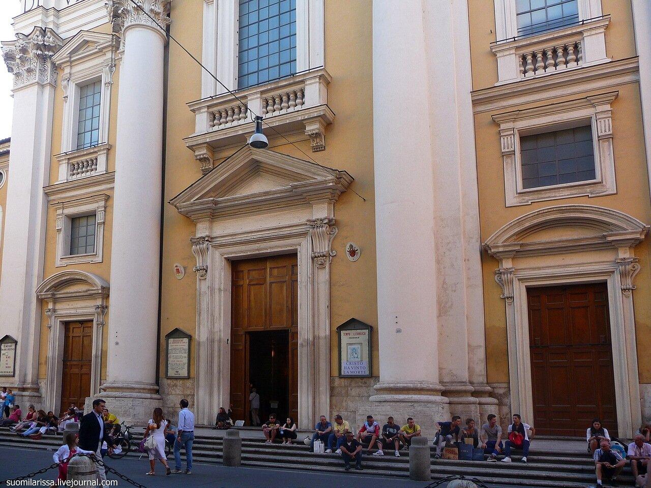 Церковь San Carlo al Corso