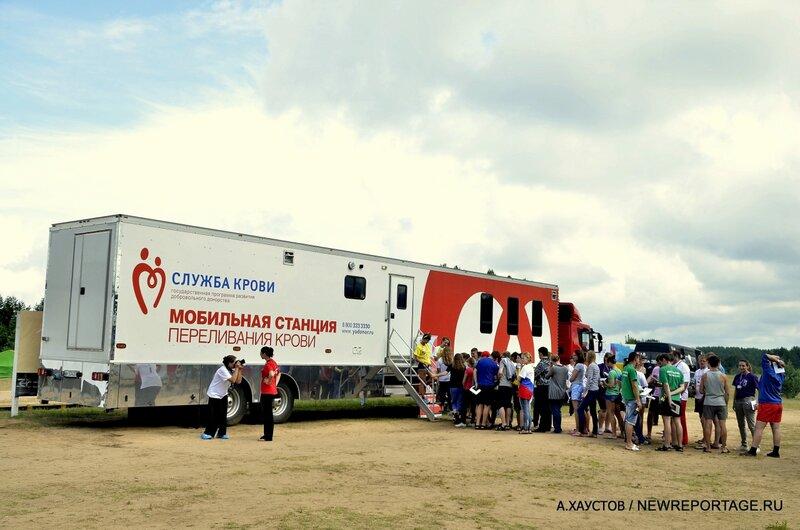Доноры и волонтёры СЕЛИГЕР 2012 на помощь Крымску!