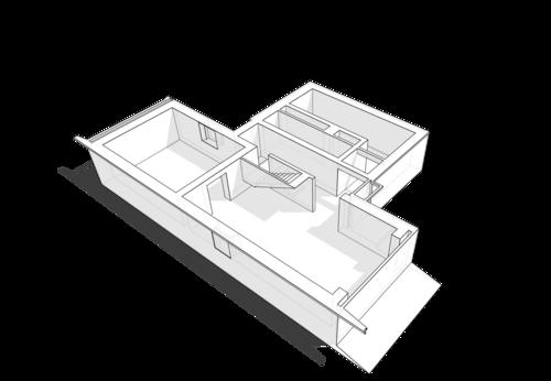 Первый цокольный уровень жилого дома, проект