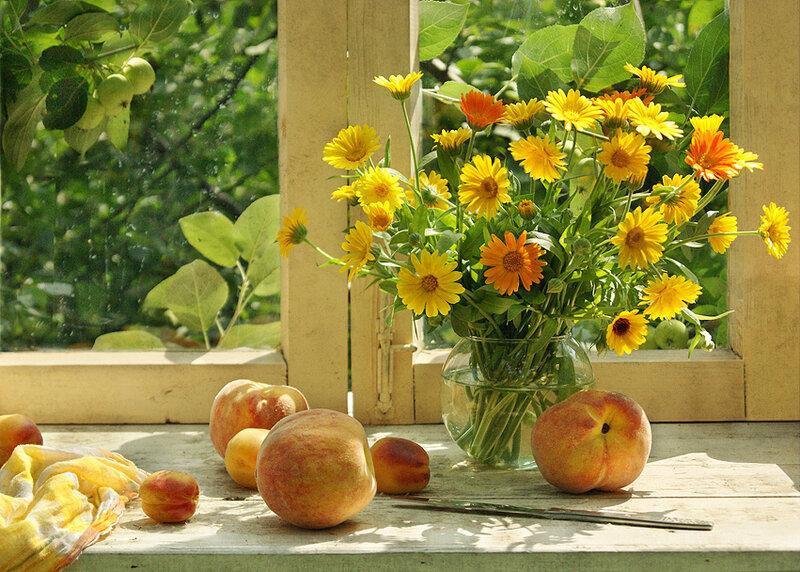 Персики для друзей :-)