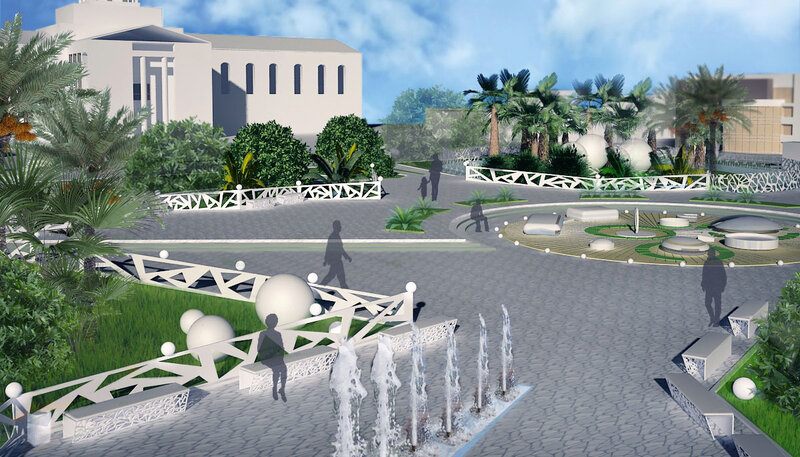 Дизайн среды парка
