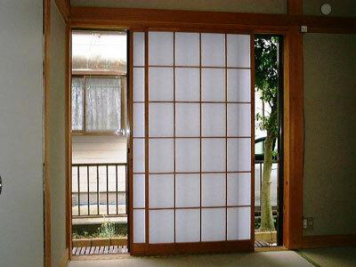 Раздвижные двери в Японском стиле.