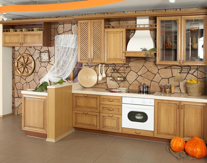 Оформление кухонь своими руками
