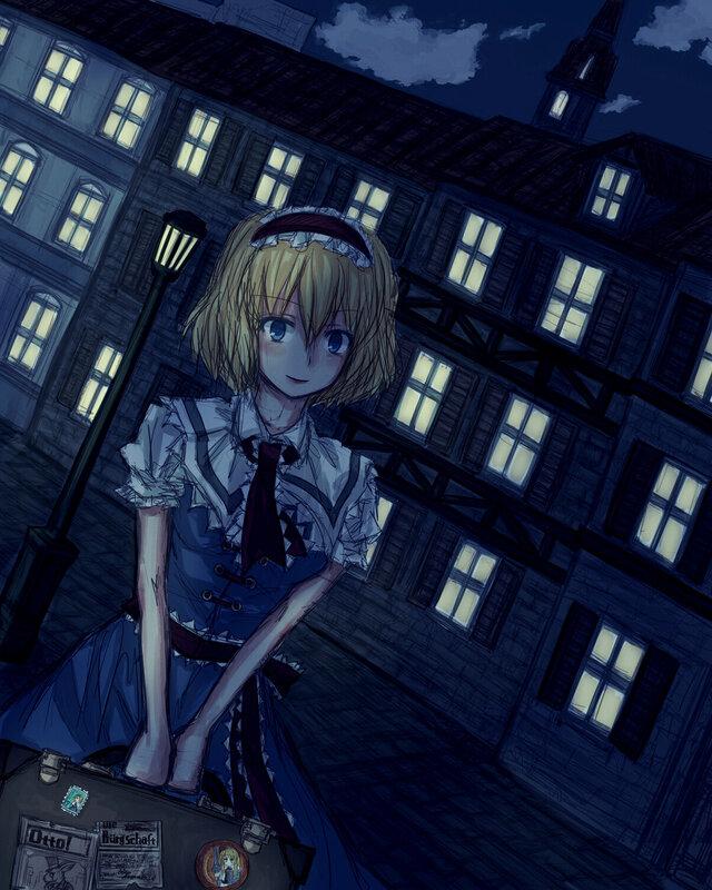 Алиса в городе