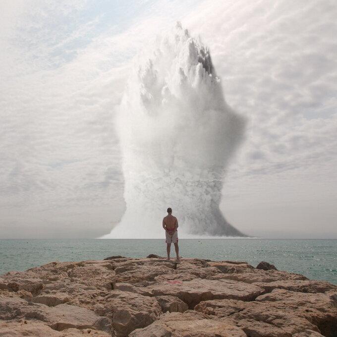 Просмотр атомного взрыва от Clay Lipsky