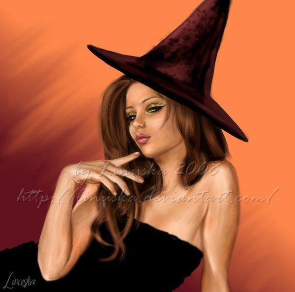 картинки красивых ведьм