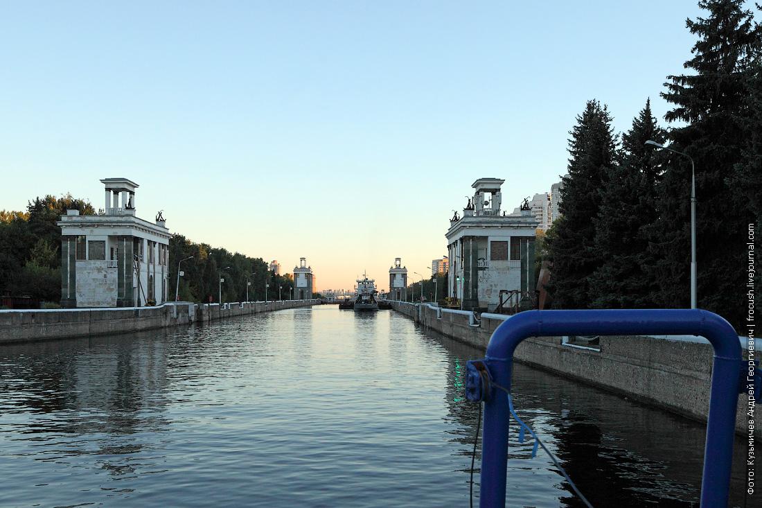 шлюз №7 канала имени Москвы фото