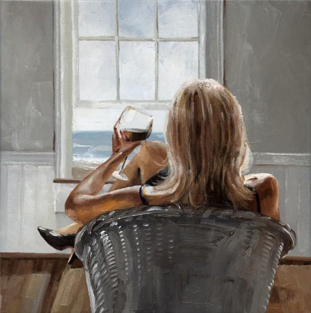 Я смотрю из окна на море... Victor Bauer