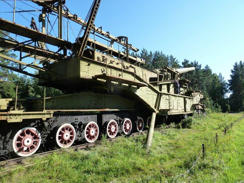 Железнодорожный артиллерийский транспортер т4 транспортер задняя подвеска