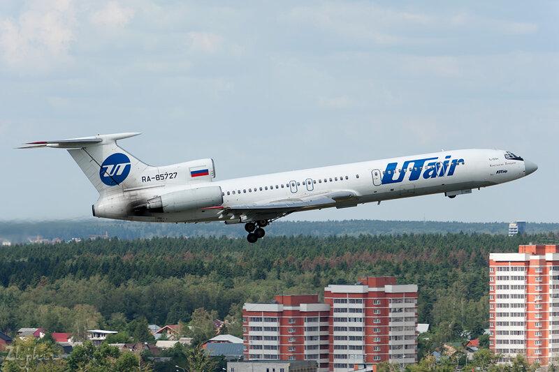 Туполев Tu-154М (RA-85727) ЮТэйр DSC_2371