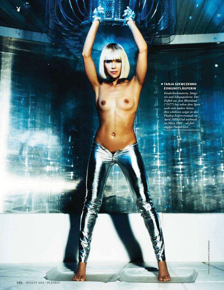 Playboy Germany, август 2012 / Tanja Szewczenko / Таня Шевченко - фигурное катание