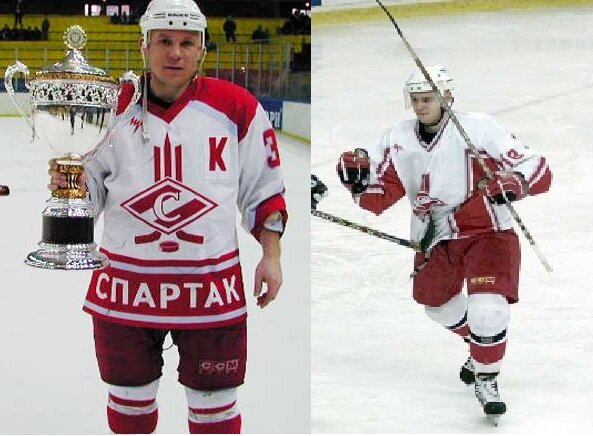 Эволюция игровой формы ХК «Спартак» (Фото)