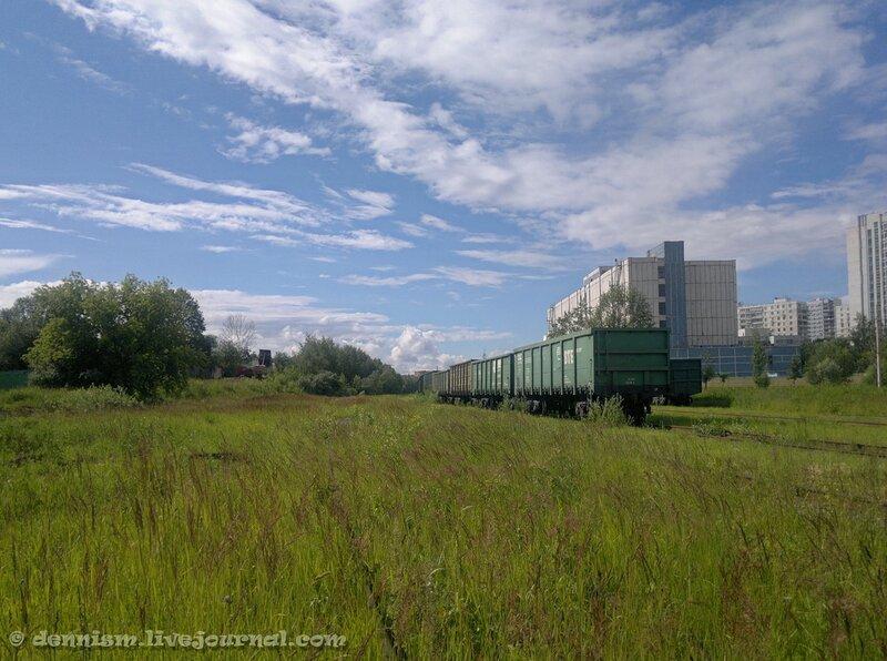 Промышленная станция Бусиново.