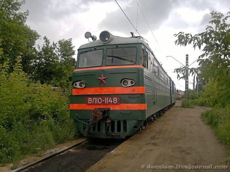 Электровоз ВЛ10-1148, депо Ховрино.