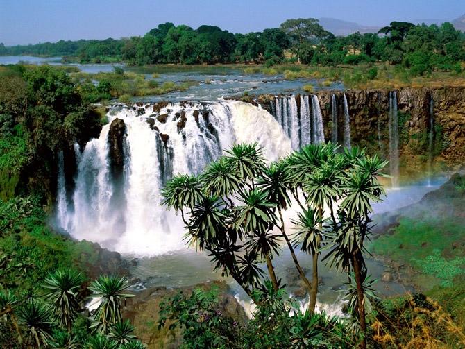 Наш прекрасный мир.  Водопады
