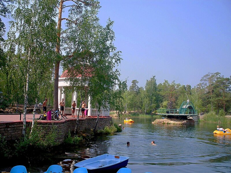Парк культуры и отдыха  им . Ю.А.Гагарина