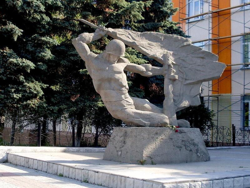 """Памятник """"Алёша"""""""