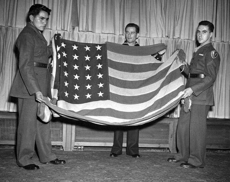 NYC IWO JIMA FLAG RAISERS 1945