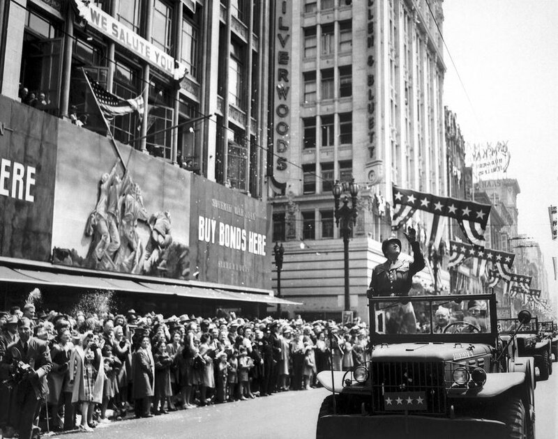 WWII PATTON PARADE LOS ANGELES