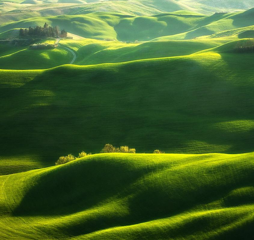 (自然风光)绿野仙境--意大利托斯卡纳 --(高清图) - 清风细雨 - 清风细雨