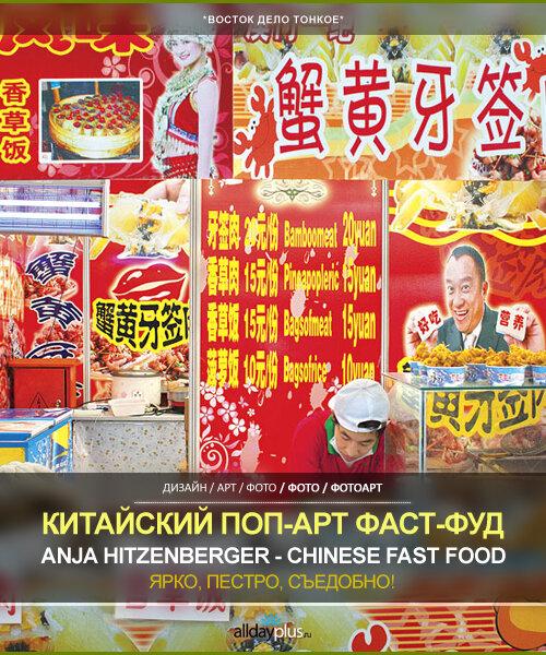Китайские забегаловки, как объекты поп-масс-культуры. Anja Hitzenberger - Chinese Fast Food Pop-Art. 13 объектов