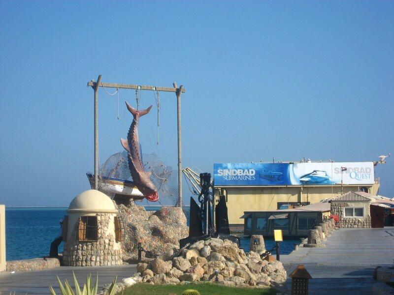 Отель Синдбад (Хургада) - три отеля Sindbad Club Aqua Resort 4* - Пальмы, Отели, Море - hurgada, egypt