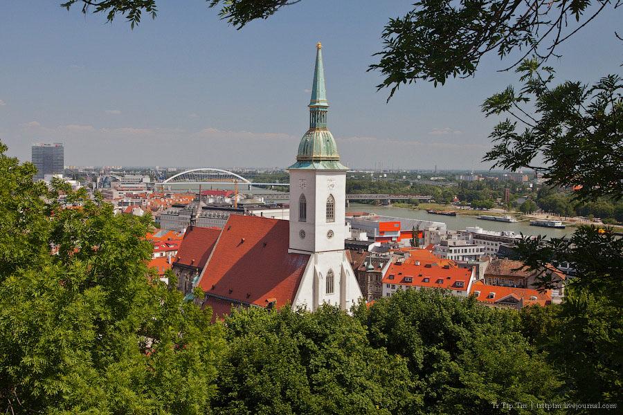 1. Столица на границах. Братислава.