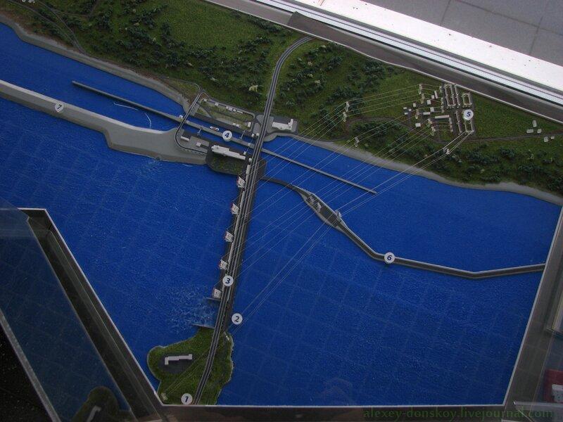 Макет ГЭС